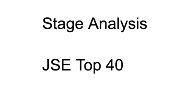 Stage Analysis: JSE Top 40